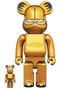 Garfield Gold Chrome 100% & 400% Bea 2Pk (C: 1-1-2)