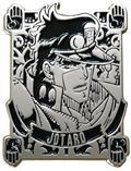 Jojos Bizarre Adventure Jotaro Kujo Black Badge Pin (C: 1-1-