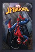 Marvel Spider-Man Hanging 11X17 Framed Print (C: 1-1-2)