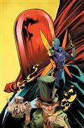Gotham City Villains Anniversary Giant #1 (One Shot) Cvr F Dan Mora Hatter Moth Red Hood Card Stock Var