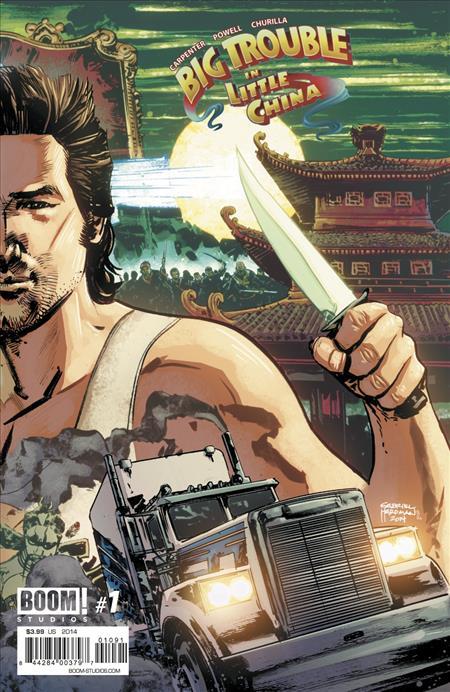 BIG TROUBLE IN LITTLE CHINA #1 DCBS EXC TO BENEFIT CBLDF