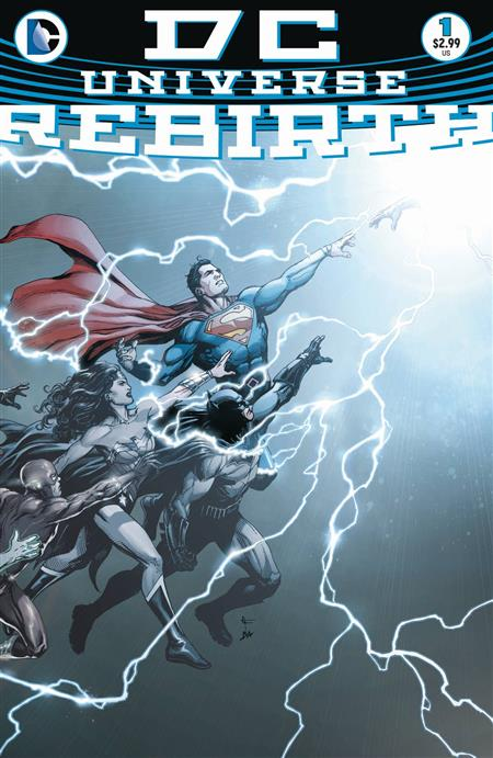 DC UNIVERSE REBIRTH #1 FIRST PRINTING *REBIRTH OVERSTOCK*