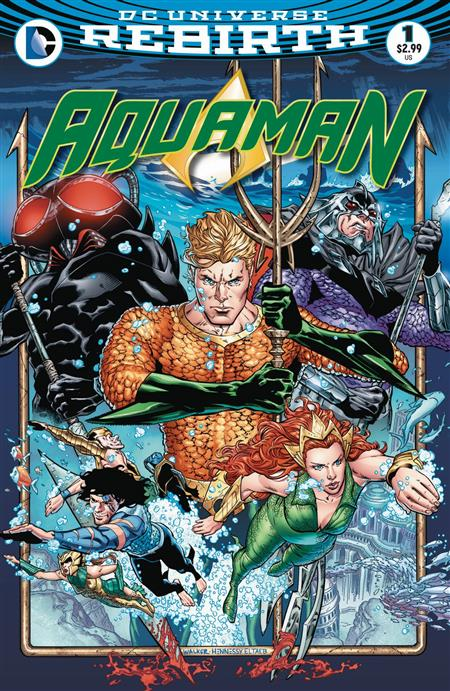 AQUAMAN #1 *REBIRTH OVERSTOCK*