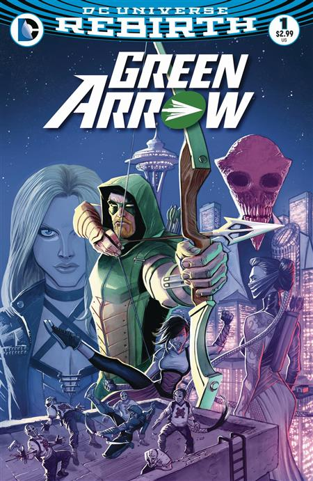 GREEN ARROW #1 *REBIRTH OVERSTOCK*