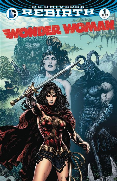 WONDER WOMAN #1 *REBIRTH OVERSTOCK*