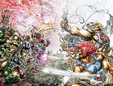 HE MAN THUNDERCATS TP *Special Discount*