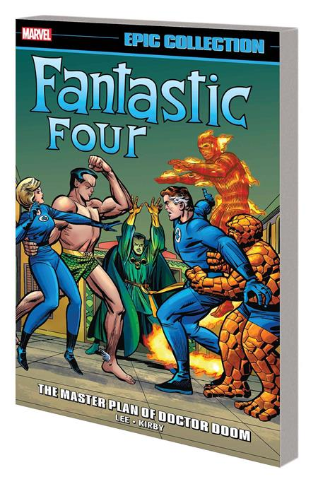 FANTASTIC FOUR EPIC COLL MASTER PLAN OF DOCTOR DOOM TP *Special Discount*