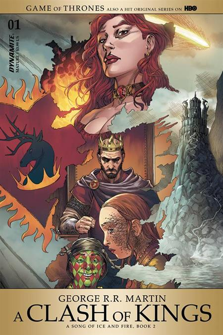 GAME OF THRONES CLASH OF KINGS #1 CVR A MILLER (MR)