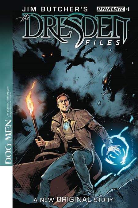 JIM BUTCHER DRESDEN FILES DOG MEN #1 CVR A GALINDO (MR)