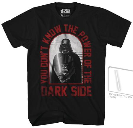 STAR WARS RED CORE UV INK PX BLACK T/S LG (C: 1-1-1)