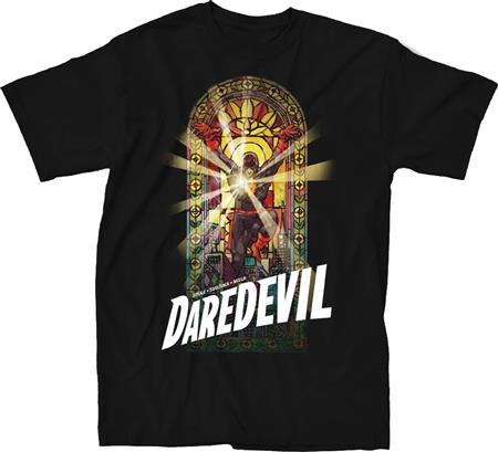 MARVEL DAREDEVIL #15 BLACK T/S LG (C: 1-1-0)