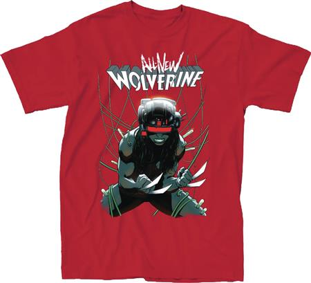 MARVEL ALL NEW WOLVERINE #16 RED T/S LG (C: 1-1-0)