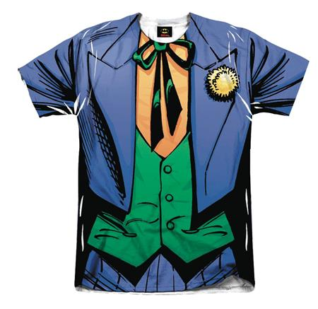 DC THE JOKER SUIT SUBLIMATED T/S LG (C: 1-1-2)