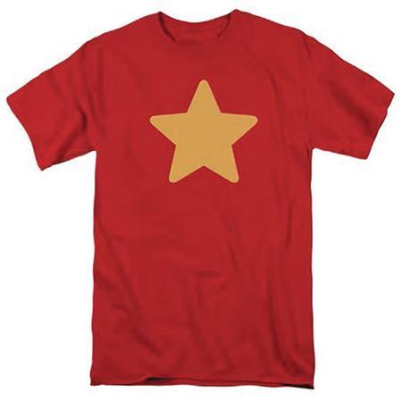 STEVEN UNIVERSE STEVENS STAR SHIRT RED T/S LG (C: 0-1-1)