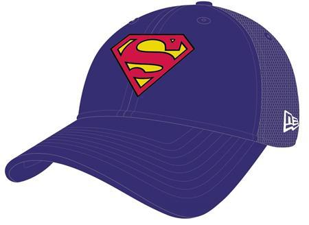 SUPERMAN SYMBOL WASHED TRUCKER SNAP BACK CAP (C: 1-1-2)