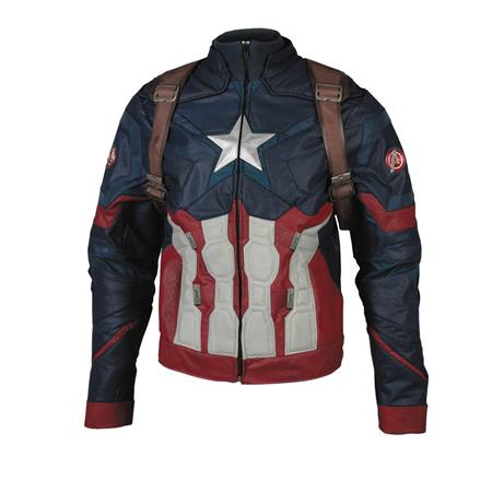 CIVIL WAR CAPTAIN AMERICA INSPIRED JACKET MED (Net) (C: 0-1-