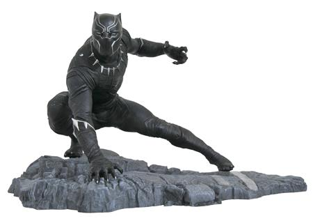 MARVEL GALLERY BLACK PANTHER PVC FIG (C: 1-1-2)