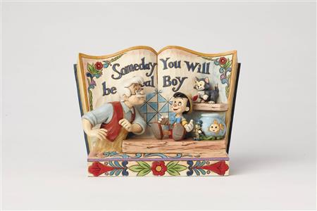 DISNEY TRADITIONS PINOCCHIO STORYBOOK FIG (C: 1-1-2)