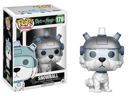 POP ANIMATION RICK & MORTY SNOWBALL VINYL FIG (C: 1-1-2)