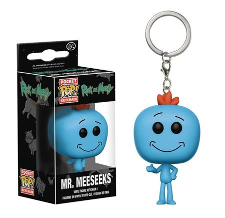 POCKET POP RICK & MORTY MEESEEKS VIN FIG KEYCHAIN (C: 1-1-2)