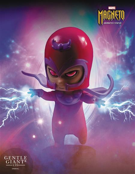 MARVEL ANIMATED STYLE MAGNETO STATUE (Net) (C: 0-1-2)