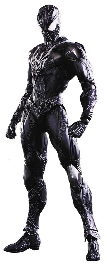 MARVEL UNIVERSE VARIANT PLAY ARTS KAI SPIDER-MAN AF LTD COLO
