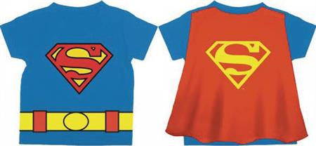 DC SUPERMAN LOGO CAPE T/S 3T (Net) (C: 1-0-2)