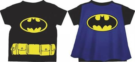 DC BATMAN LOGO CAPE T/S 2T (Net) (C: 1-0-2)