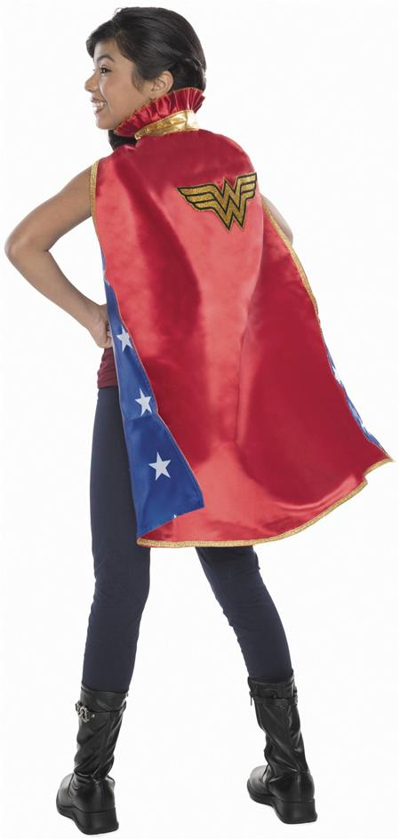 DC HEROES WONDER WOMAN COSTUME YOUTH CAPE (C: 1-0-2)