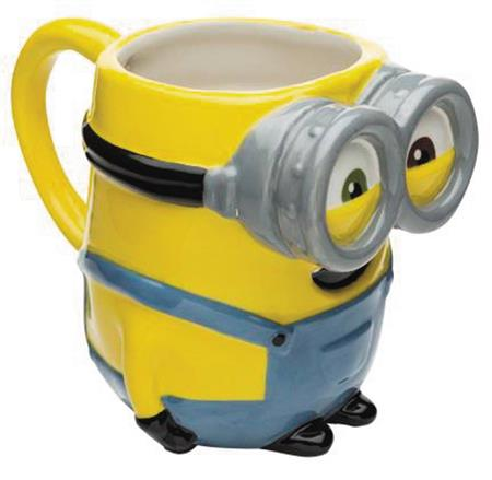 DESPICABLE ME 3 BOB MINION MOLDED CERAMIC MUG (C: 1-1-1)