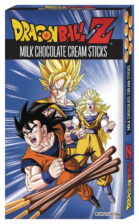 DRAGON BALL Z CHOCOLATE CREAM STICKS 12PC DIS (C: 1-1-2)