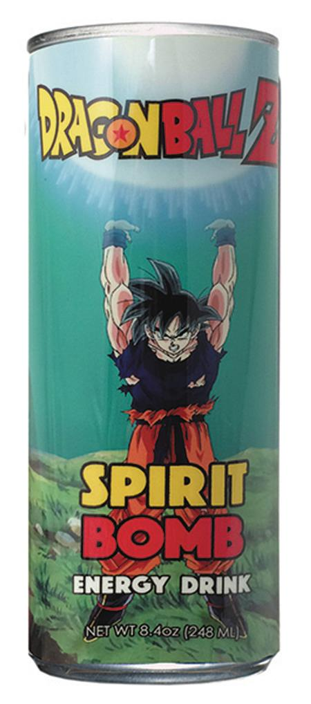DRAGON BALL Z SPIRIT BOMB ENERGY DRINK 24CT CASE (C: 1-1-1)