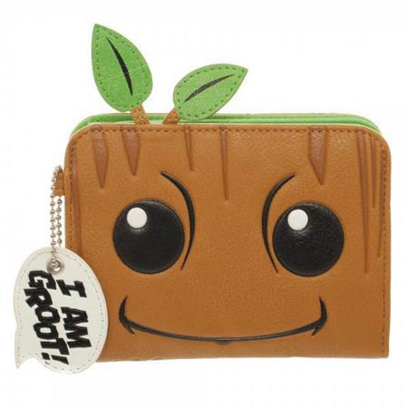 GUARDIANS OF THE GALAXY BABY GROOT MINI ZIP WALLET (C: 1-0-2