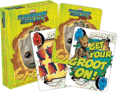 GOTG 2 BABY GROOT PLAYING CARDS (C: 1-1-0)