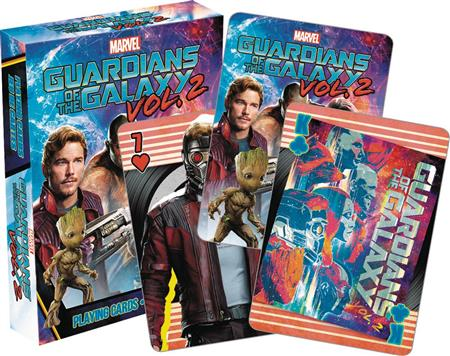 GOTG 2 MOVIE PLAYING CARDS (C: 1-1-0)