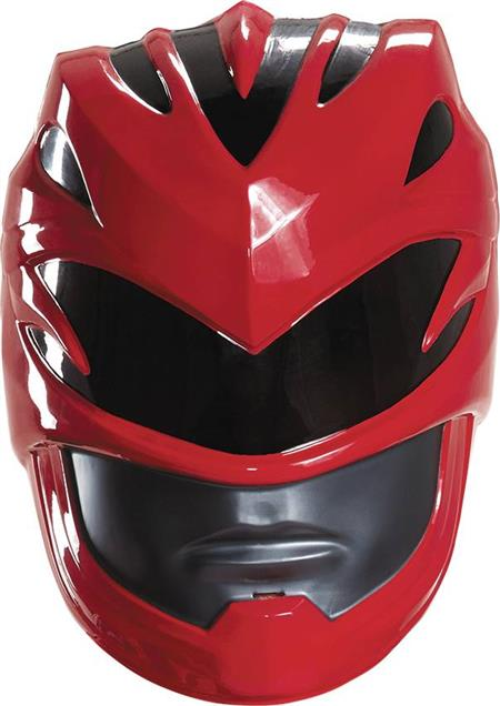 POWER RANGERS MOVIE RED RANGER ADULT HELMET (C: 1-0-2)