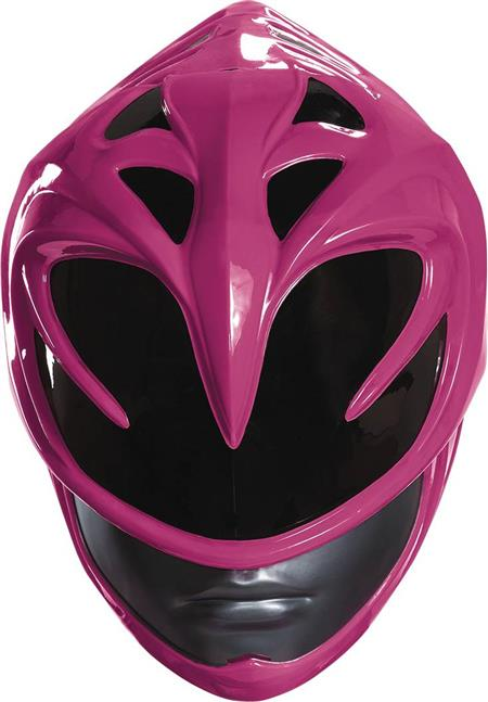 POWER RANGERS MOVIE PINK RANGER ADULT HELMET (C: 1-0-2)
