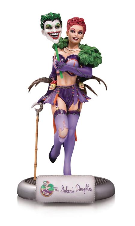 DC COMICS BOMBSHELLS JOKERS DAUGHTER STATUE