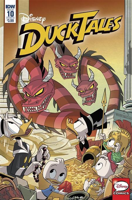 Cover B - Ghiglione Ducktales #11