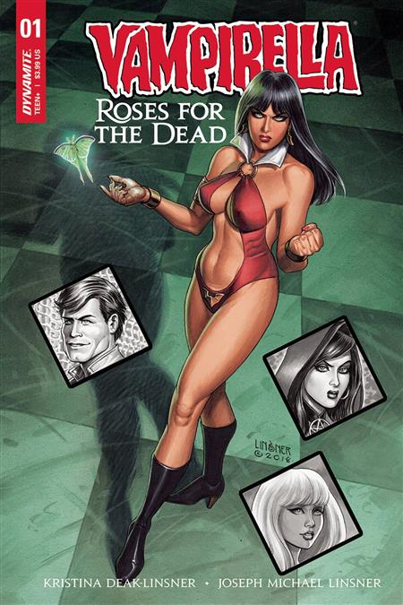 VAMPIRELLA ROSES FOR DEAD #1 (OF 5) CVR A LINSNER (MR)