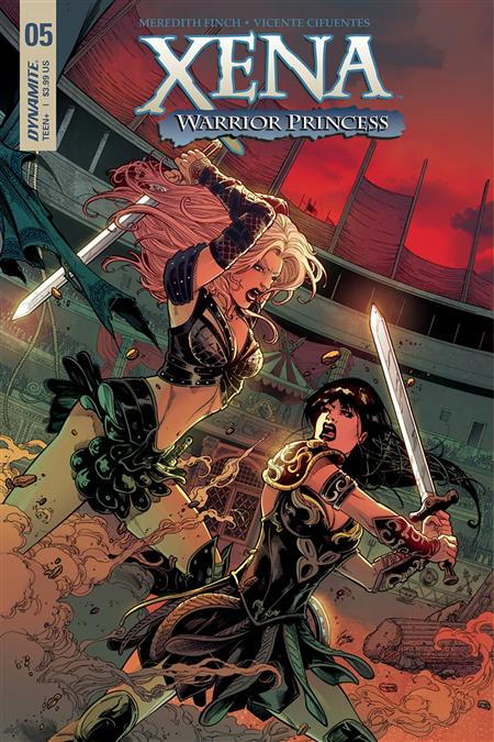 Xena #7 of 5 Cover B - Cifuentes