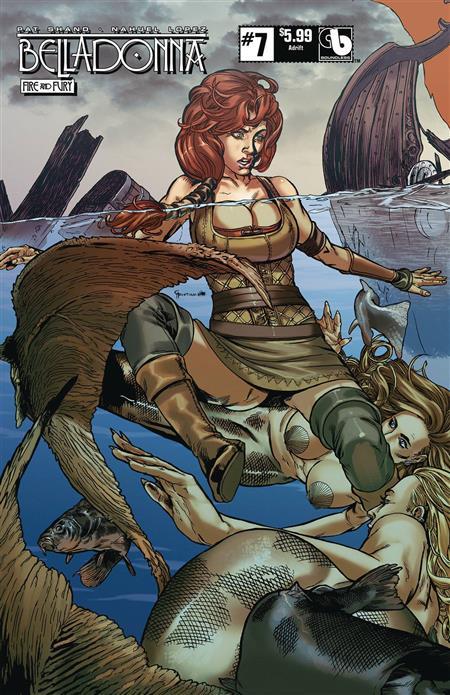 Belladonna Fire Fury #7 Adrift (MR) - Discount Comic Book Service
