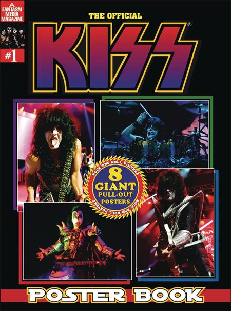 OFFICIAL KISS POSTER BOOK #1 (C: 0-1-0)