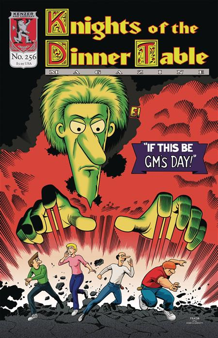 Knights of The Dinner Table #256 - Discount Comic Book ...