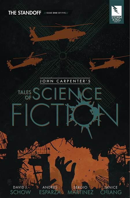 JOHN CARPENTER TALES OF SCI FI STANDOFF #1 (OF 5) (MR)