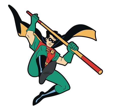 BATMAN ANIMATED SERIES ROBIN MAGNET (C: 0-1-2)