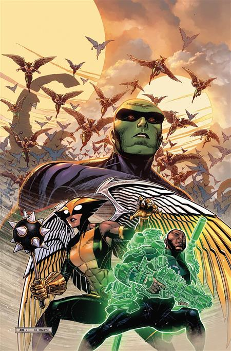 JUSTICE LEAGUE TP VOL 03 HAWKWORLD