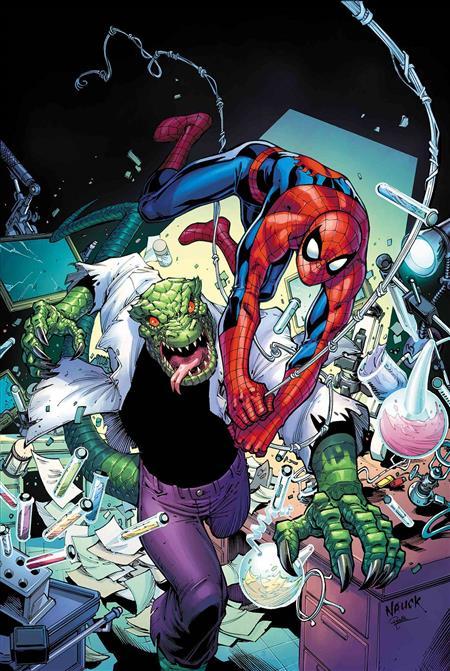 SPIDER-MAN REPTILIAN RAGE #1