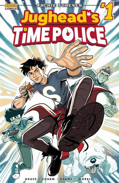 JUGHEAD TIME POLICE #1 CVR A CHARM