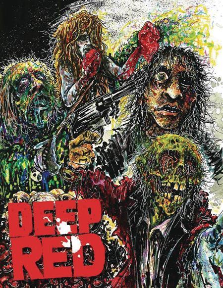DEEP RED VOL 4 #1 LTD HC (C: 0-1-0)